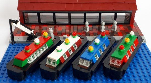 Lego Canal boats