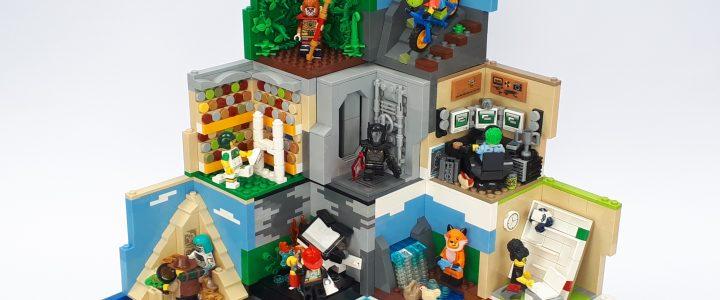 Lego Minifigure Habitats