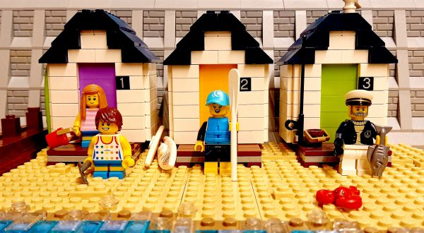 Lego Seaside Town Build Project