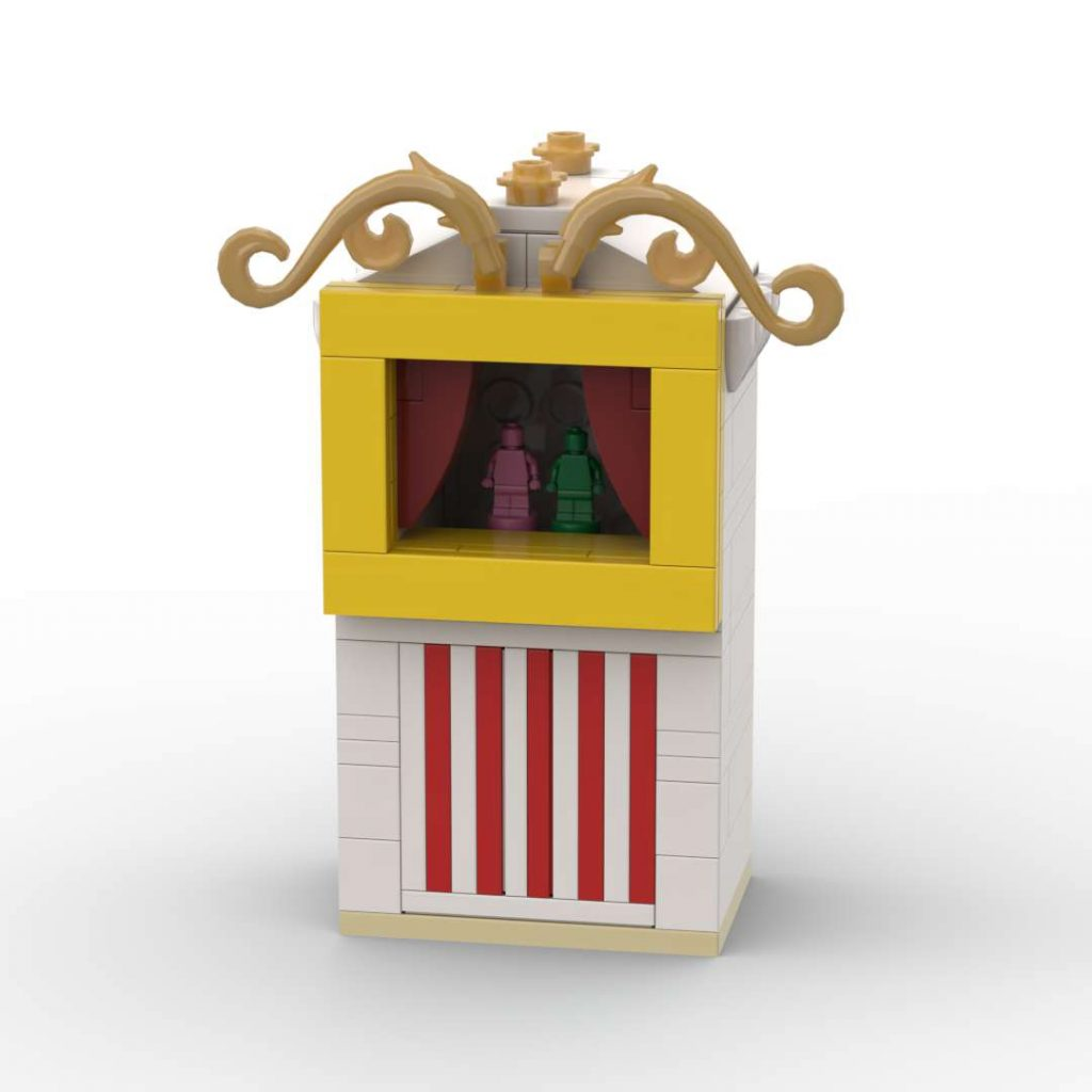 Punch and Judy Tent