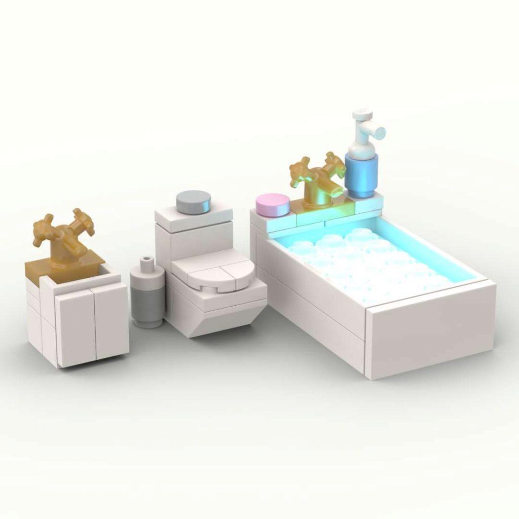 Minifigure Bathroom Fittings